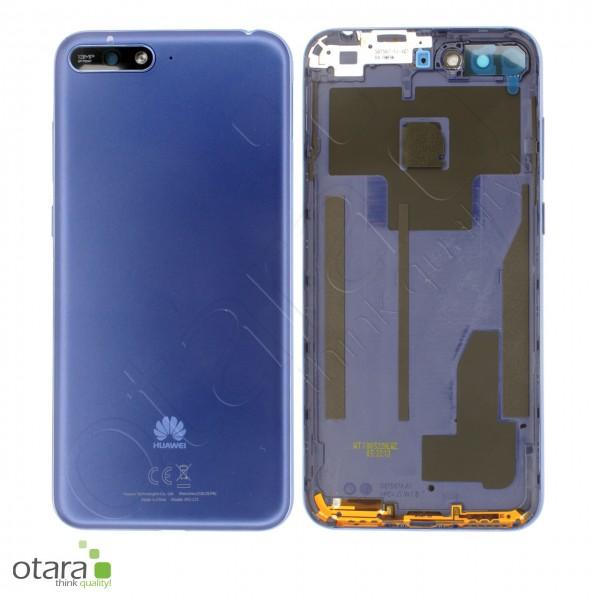 Akkudeckel Huawei Y6 2018, blau, Serviceware