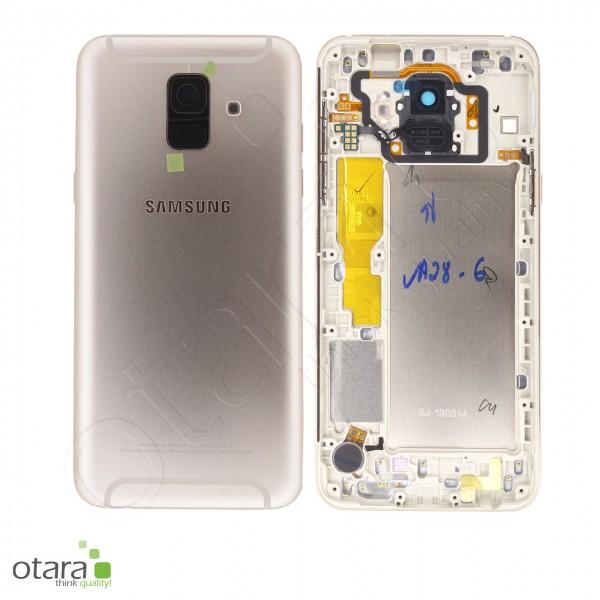 Akkudeckel Samsung Galaxy A6 2018 (A600F), gold, Serviceware