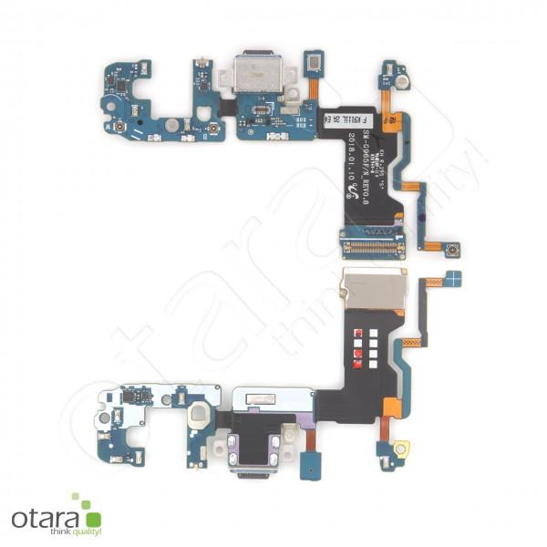 Samsung Galaxy S9 Plus (G965F) Ladebuchse Platine mit USB Typ C, Mikrofon, Serviceware