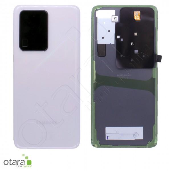 Akkudeckel Samsung Galaxy S20 Ultra (G988B), cloud white, Serviceware
