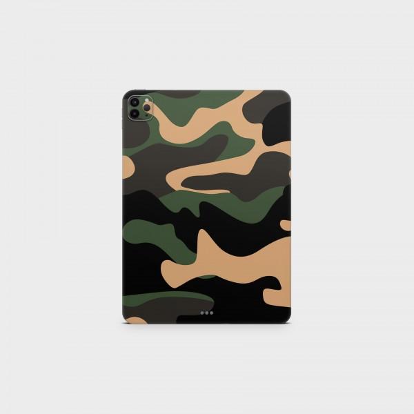 "GREEN MNKY Backcover Skin Tablet 11"" (Struktur Serie) ""Camouflage Safari"" [3 Stück]"