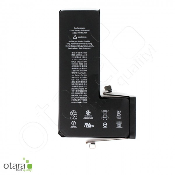Akku Premium TI Chip geeignet für iPhone 11 Pro [3.83V|3110mAh] +Akkuklebestreifen