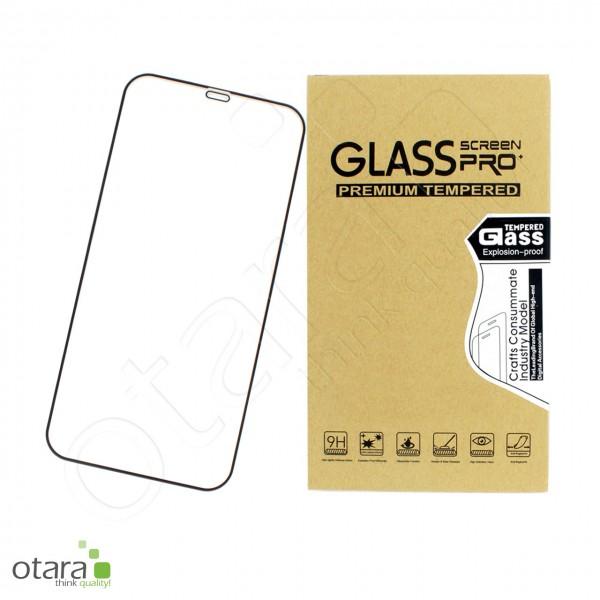 Schutzglas Edge to Edge iPhone 12 Pro Max, schwarz