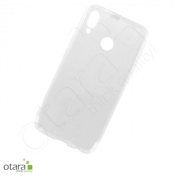 Silikoncase/Schutzhülle für Huawei P20 Lite, transparent
