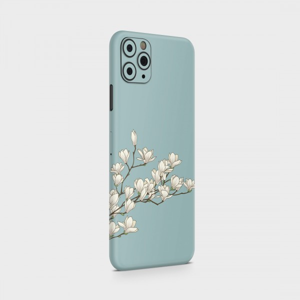 "GREEN MNKY Backcover Skin Smartphone 7"" (Design Serie) ""White Orchidee"" [3 Stück]"