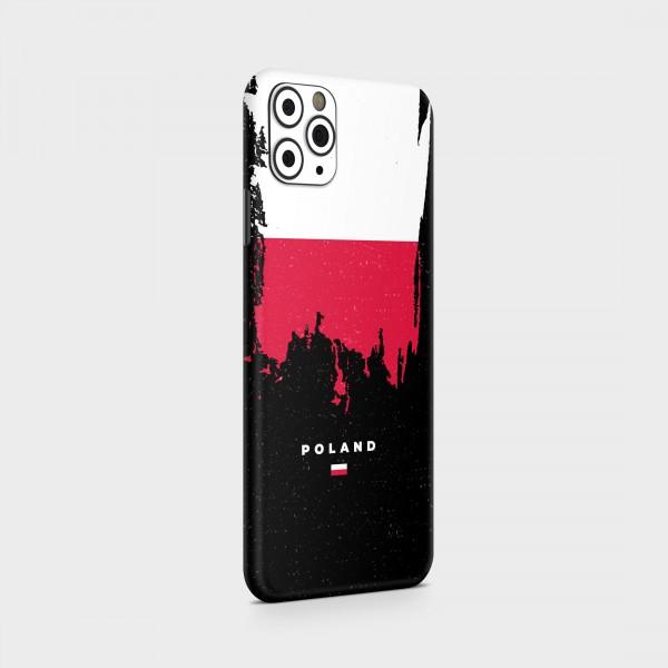 "GREEN MNKY Backcover Skin Smartphone 7"" (Flags Serie) ""Poland Flag"" [3 Stück]"