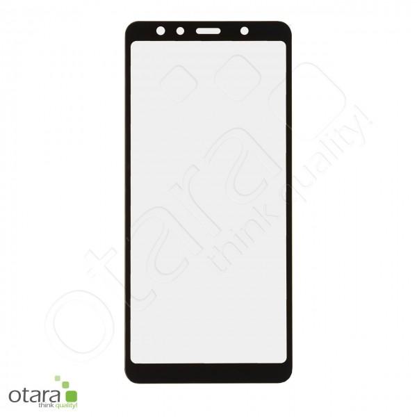 Schutzglas Edge to Edge (full glue) für Samsung Galaxy A7 2018, schwarz (ohne Verpackung)