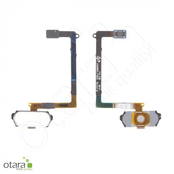 Samsung Galaxy S6 (G920F) Home Button Flex, weiß, Serviceware