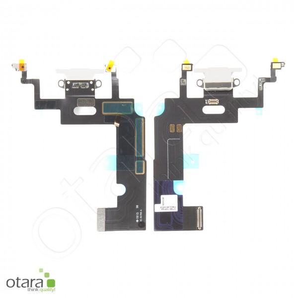 Lade Konnektor Flexkabel geeignet für iPhone XR (ori/pulled), weiß