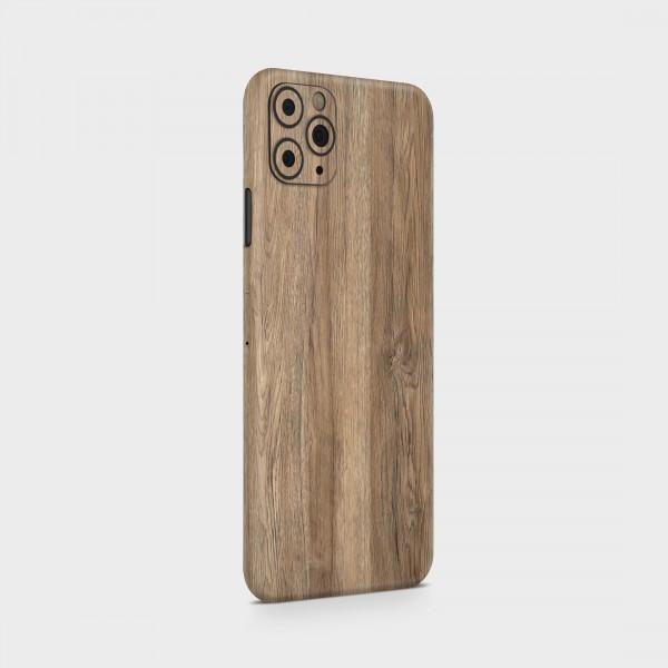 "GREEN MNKY Backcover Skin Smartphone 7"" (Struktur Serie) ""Wood Backfilm"" [3 Stück]"
