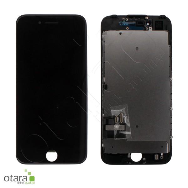 Displayeinheit geeignet für iPhone 7 (refurbished) inkl. Heatplate, schwarz
