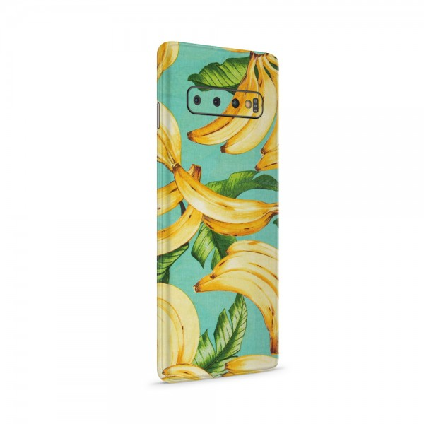 """GREEN MNKY Backcoverfolie Backfilm Design """"Flying Bananas"""" [3er Pack]"""