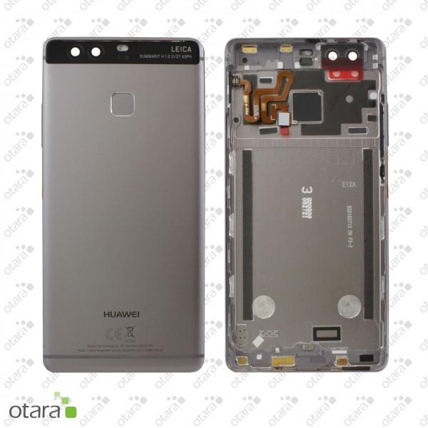 Akkudeckel Huawei P9, titanium grey, Serviceware
