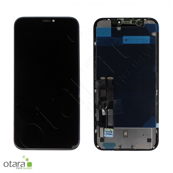 Displayeinheit geeignet für iPhone XR (refurbished) inkl. Heatplate, schwarz