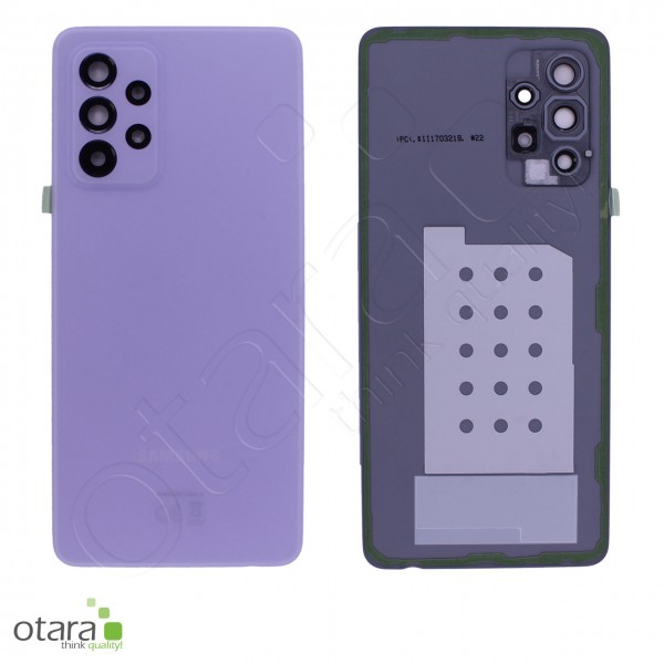 Akkudeckel Samsung Galaxy A52 (A525F,A526B), awesome violet, Serviceware