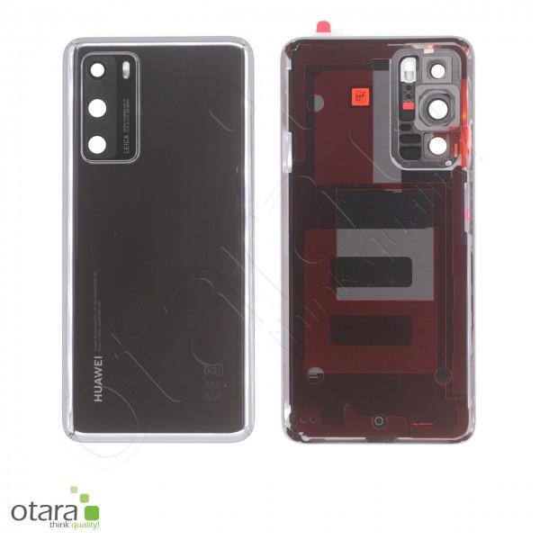Akkudeckel Huawei P40, black, Serviceware