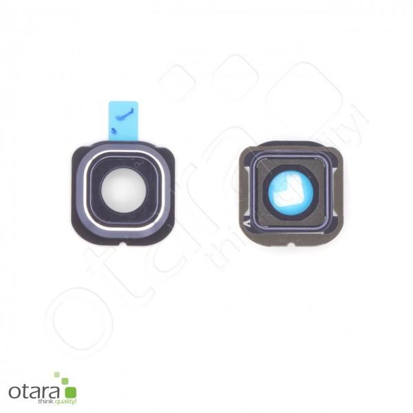 Samsung Galaxy S6 Edge (G925F) Kamera Ring/Abdeckung frame, schwarz, Serviceware