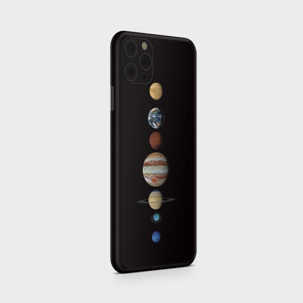 "GREEN MNKY Backcover Skin Smartphone 7"" (Design Serie) ""Planets"" [3 Stück]"