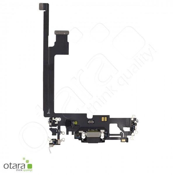 Lade Konnektor Flexkabel geeignet für iPhone 12 Pro Max (Ori/pulled Qualität), schwarz
