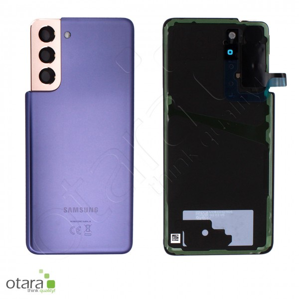 Akkudeckel Samsung Galaxy S21 (G991), phantom violet, Serviceware