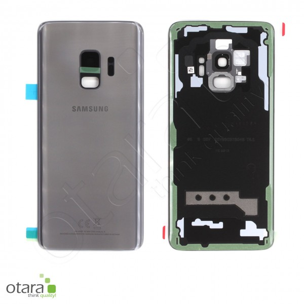 Akkudeckel Samsung Galaxy S9 (G960F), titanium grey, Serviceware