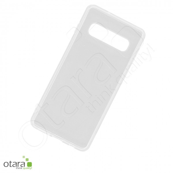 Silikoncase/Schutzhülle für Samsung Galaxy S10, transparent