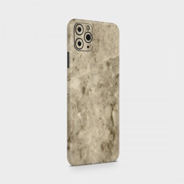 "GREEN MNKY Backcover Skin Smartphone 7"" (Struktur Serie) ""Marmoroptik Beige"" [3 Stück]"