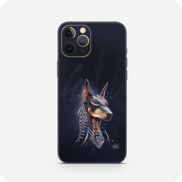 "GREEN MNKY Backcover Skin Smartphone 7"" (Jayn Kollektion) ""Dobermann"" [3 Stück]"