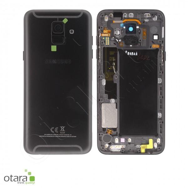 Akkudeckel Samsung Galaxy A6 2018 (A600F), schwarz, Serviceware