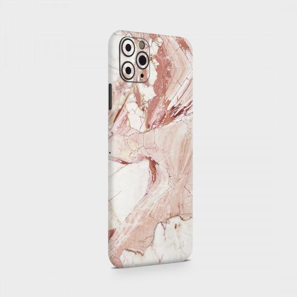 "GREEN MNKY Backcover Skin Smartphone 7"" (Struktur Serie) ""Pinky Marble"" [3 Stück]"