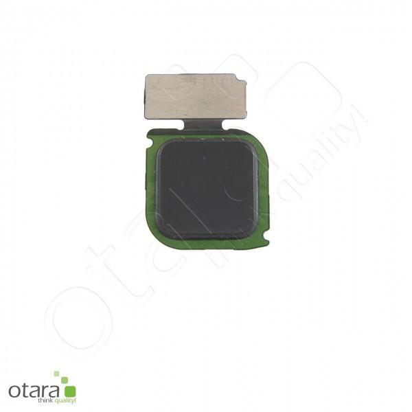 Huawei P10 Lite geeigneter Fingerprint Sensor, graphite black