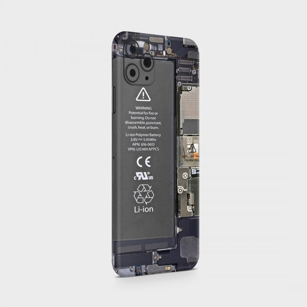 "GREEN MNKY Backcover Skin Smartphone 7"" (Design Serie) ""Board Backfilm"" [3 Stück]"