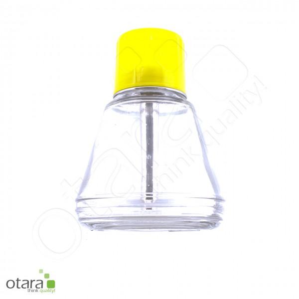 Liquid-Spender mit Pumpaufsatz, Dispenser für Flüssigkeiten [Glas/150ml]