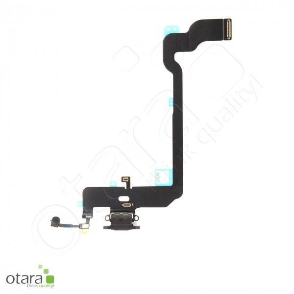 Lade Dock Connector Flex geeignet für iPhone XS (Ori/pulled Qualität), schwarz