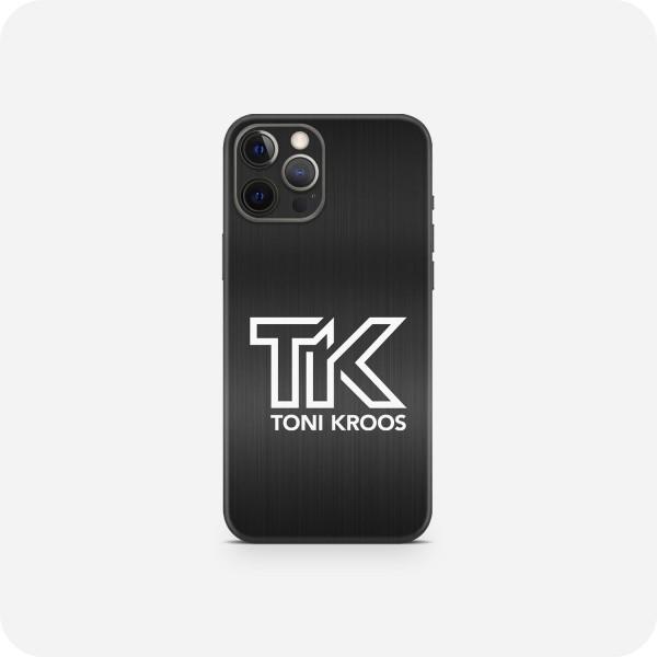 "GREEN MNKY Backcover Skin Smartphone 7"" (Toni Kroos Kollektion) ""TK Metallic Black"" [3 Stück]"