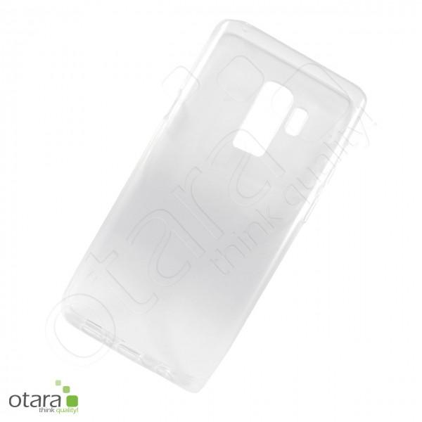 Silikoncase/Schutzhülle für Samsung Galaxy S9 Plus, transparent