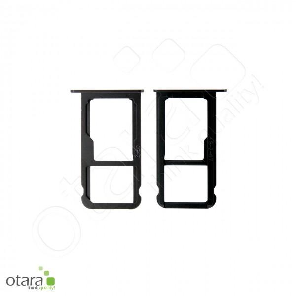 Simkarten Halter Huawei P10, graphit schwarz, Serviceware