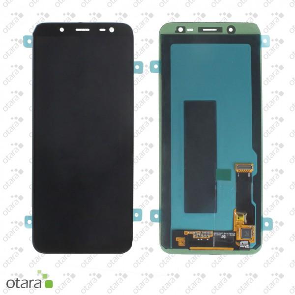 Displayeinheit Samsung Galaxy J6 2018 (J600F), schwarz, Serviceware