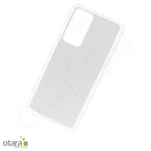 Silikoncase/Schutzhülle für Huawei P40, transparent