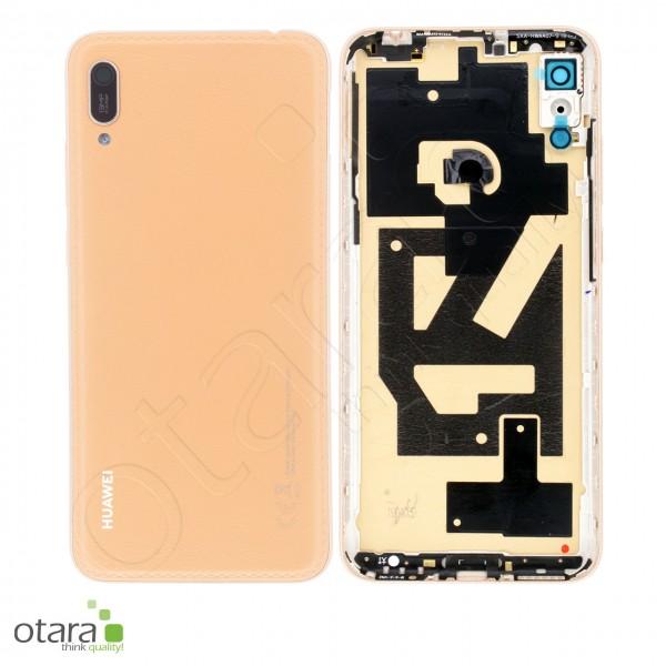 Akkudeckel Huawei Y6 2019, amber brown, Serviceware