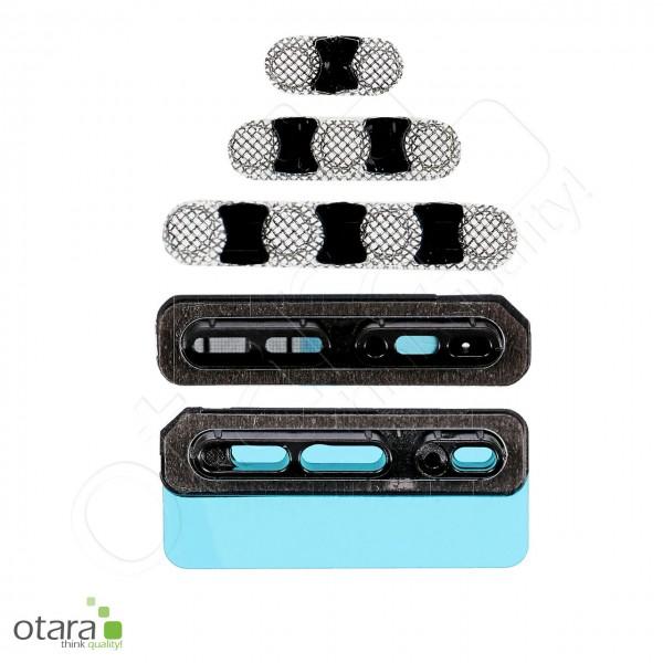 Staubschutz Gitter Set (Gehäuse/Lautsprecher/Mikrofon) geeignet für iPhone X
