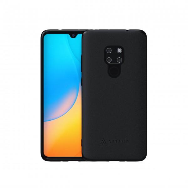 ASESMO Alcantara Handyhülle für Huawei Mate 20 Pro, schwarz