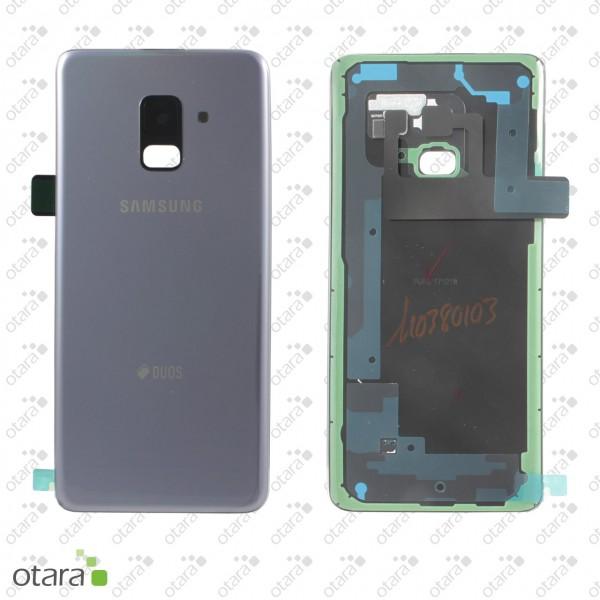 Akkudeckel Samsung Galaxy A8 2018 Duos (A530F/DS), orchid grey, Serviceware