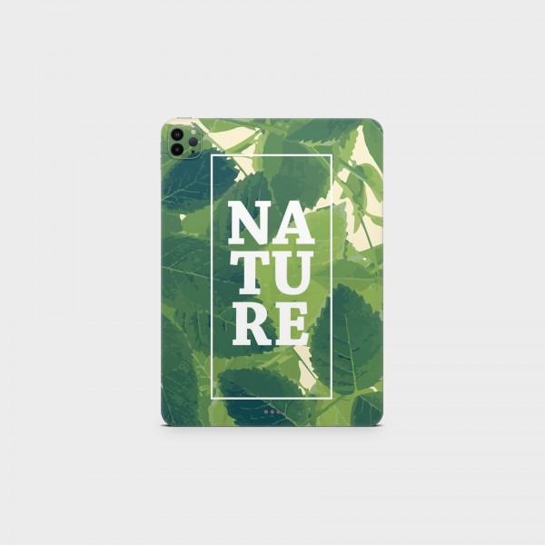"GREEN MNKY Backcover Skin Tablet 11"" (Design Serie) ""Nature"" [3 Stück]"