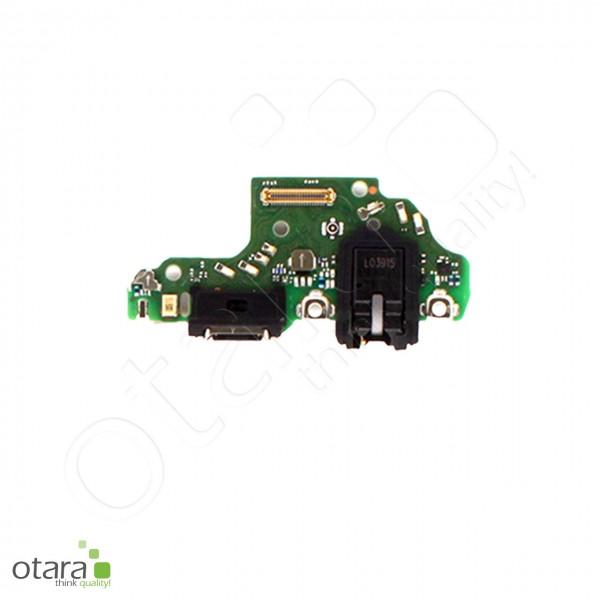 Huawei P40 Lite Lade Konnektor Platine mit USB-C + Audio Jack, Mikrofon, Serviceware