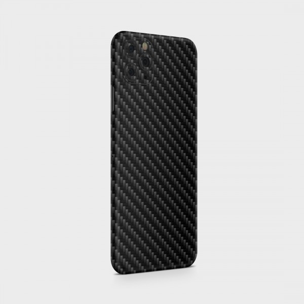 "GREEN MNKY Backcover Skin Smartphone 7"" (Struktur Serie) ""Carbon Black"" [3 Stück]"