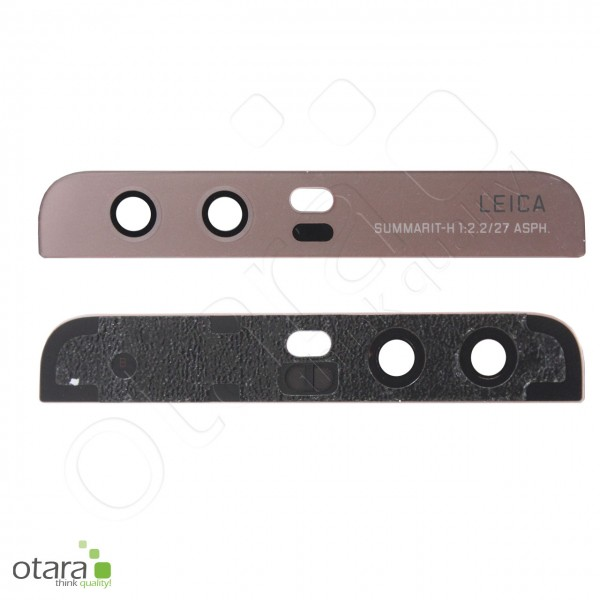 Huawei P10 geeignetes Kameraglas Linse (mit Cover), rose