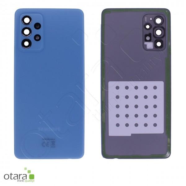 Akkudeckel Samsung Galaxy A72 (A725F,A726B), awesome blue, Serviceware