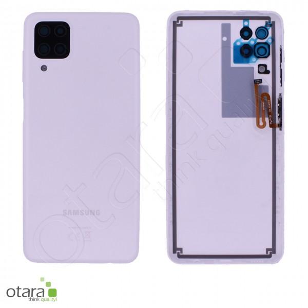 Akkudeckel Samsung Galaxy A12 (A125F), white, Serviceware