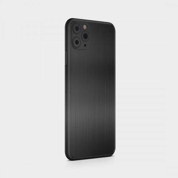 "GREEN MNKY Backcover Skin Smartphone 7"" (Struktur Serie) ""Brushed Metal Black"" [3 Stück]"